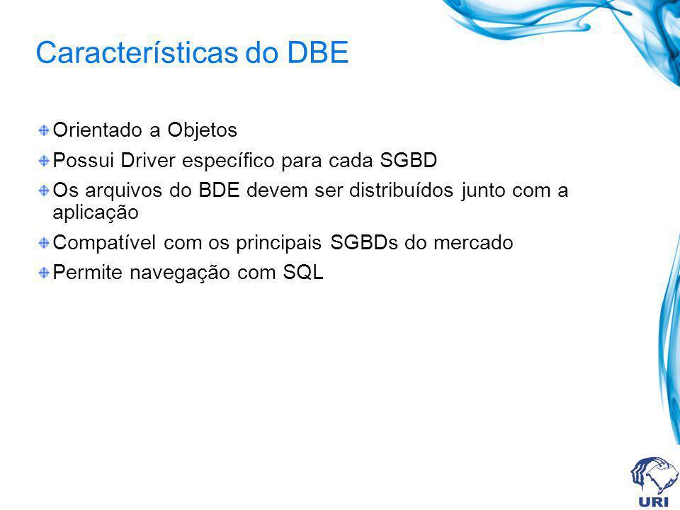 Características do DBE