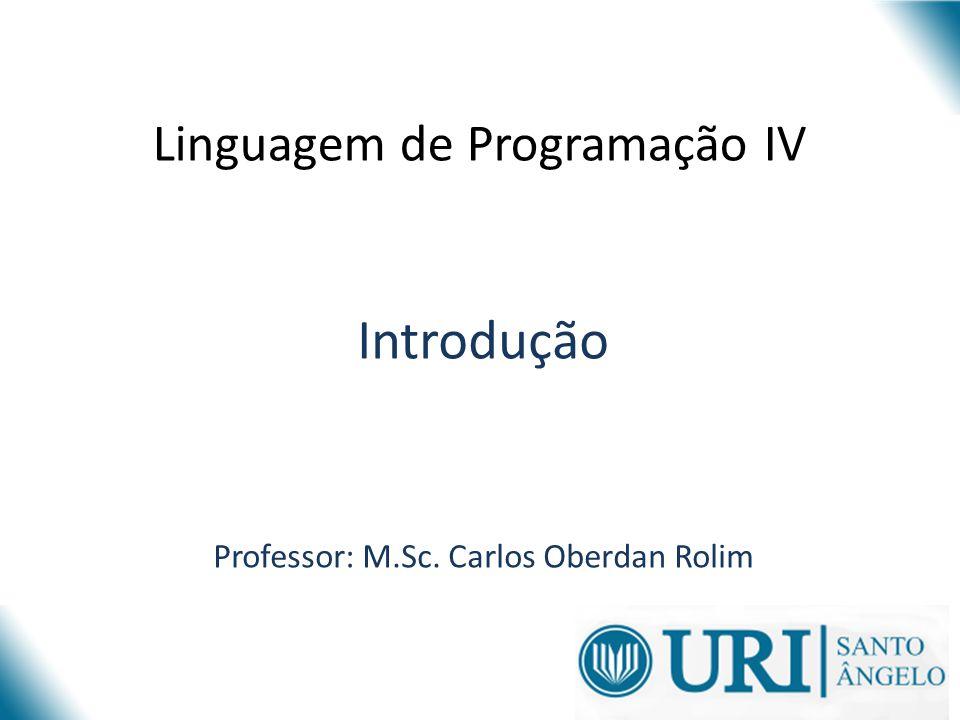Linguagem de Programação IV