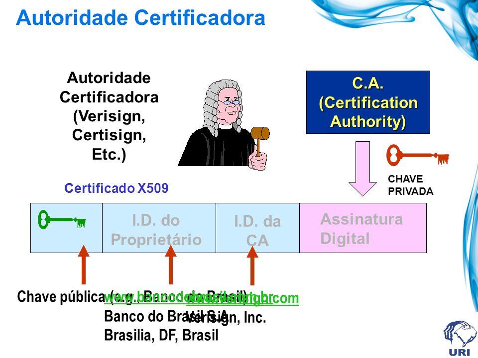Autoridade Certificadora