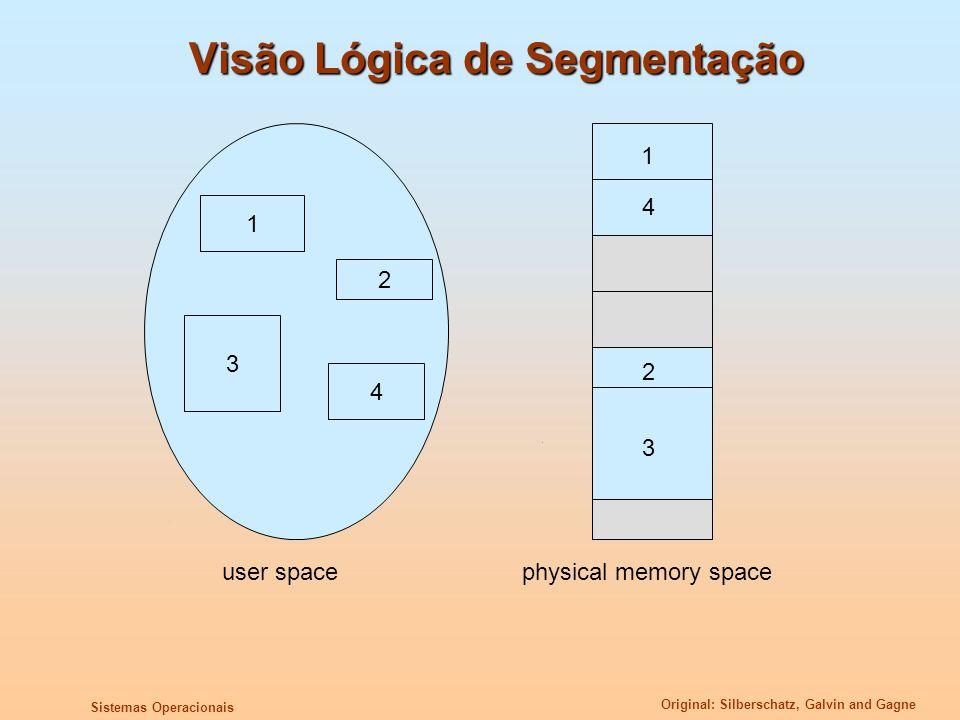 Visão Lógica de Segmentação