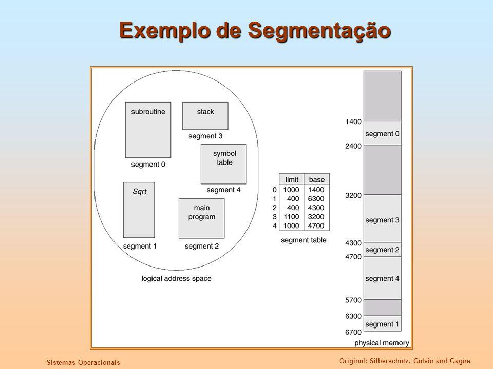 Exemplo de Segmentação
