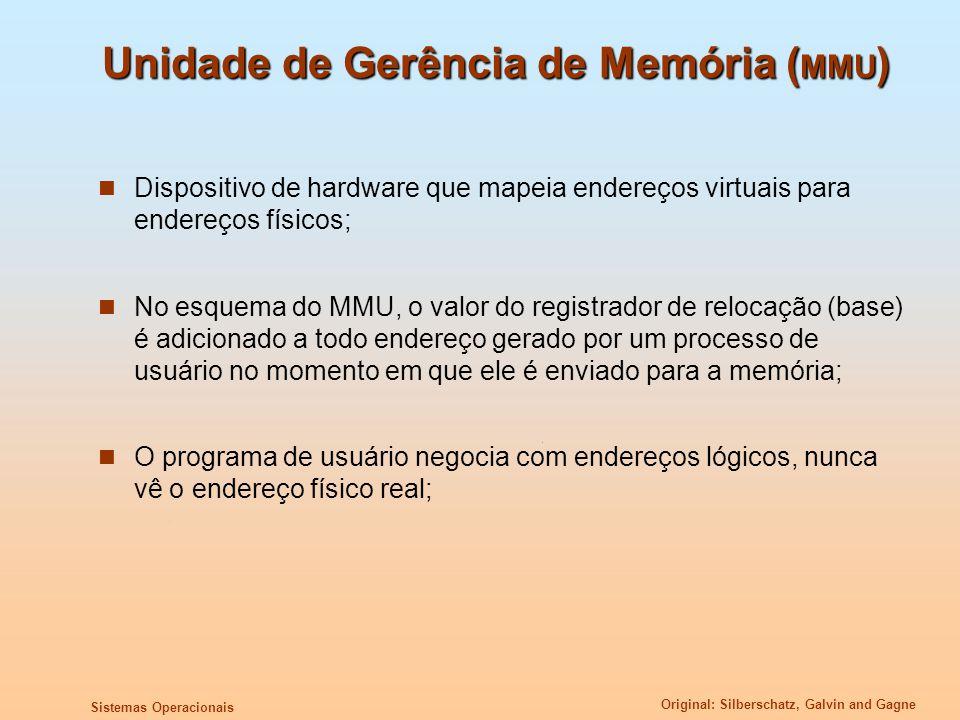 Unidade de Gerência de Memória (MMU)