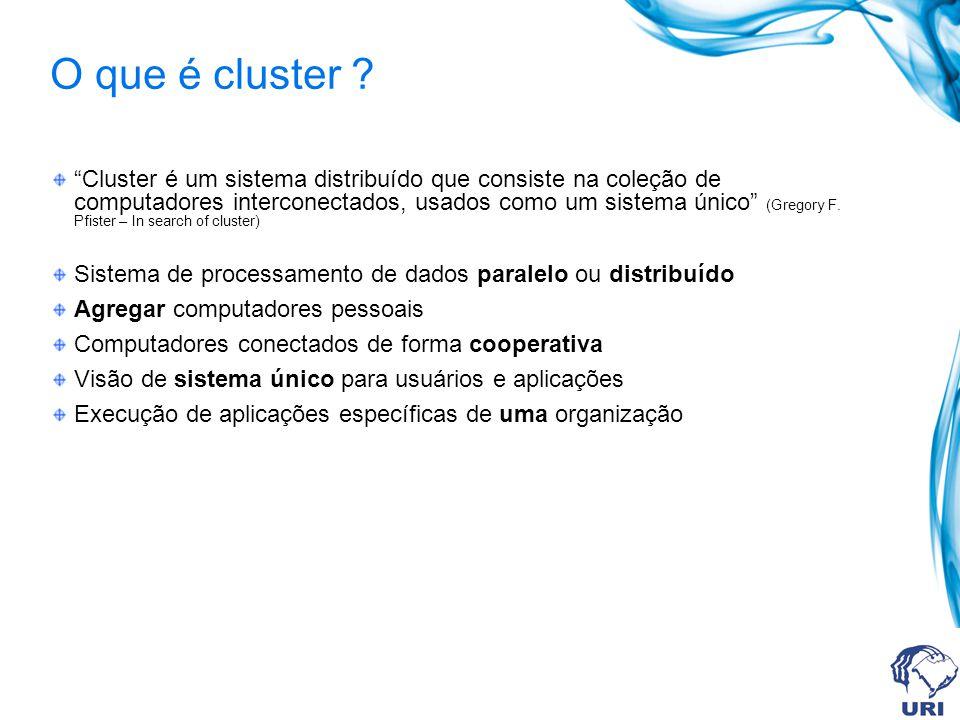 O que é cluster