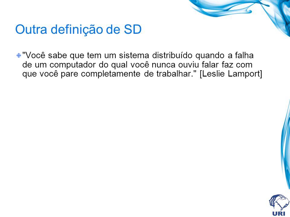 Outra definição de SD