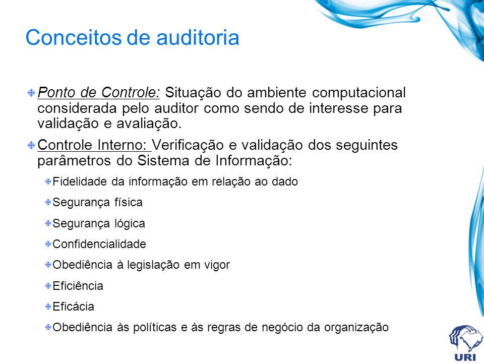 Conceitos de auditoria