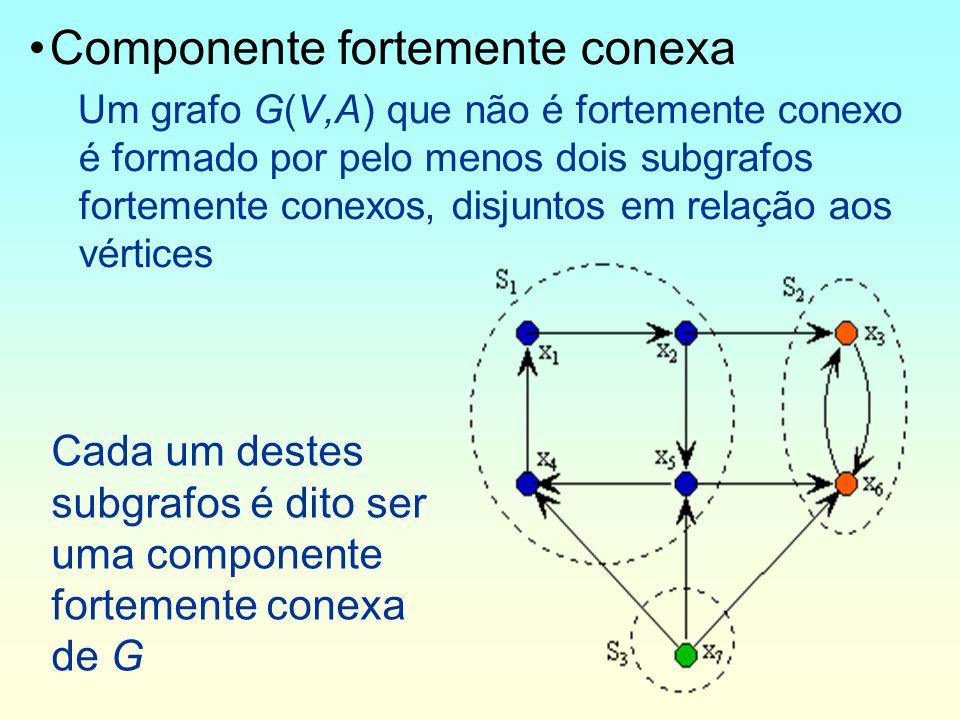 Componente fortemente conexa