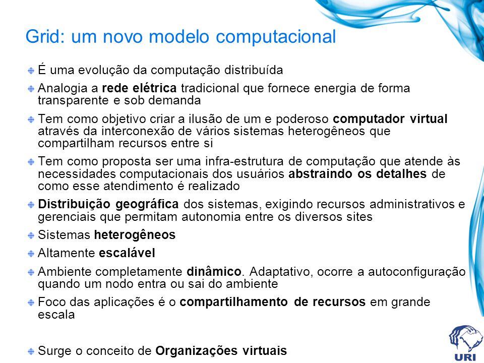 Grid: um novo modelo computacional
