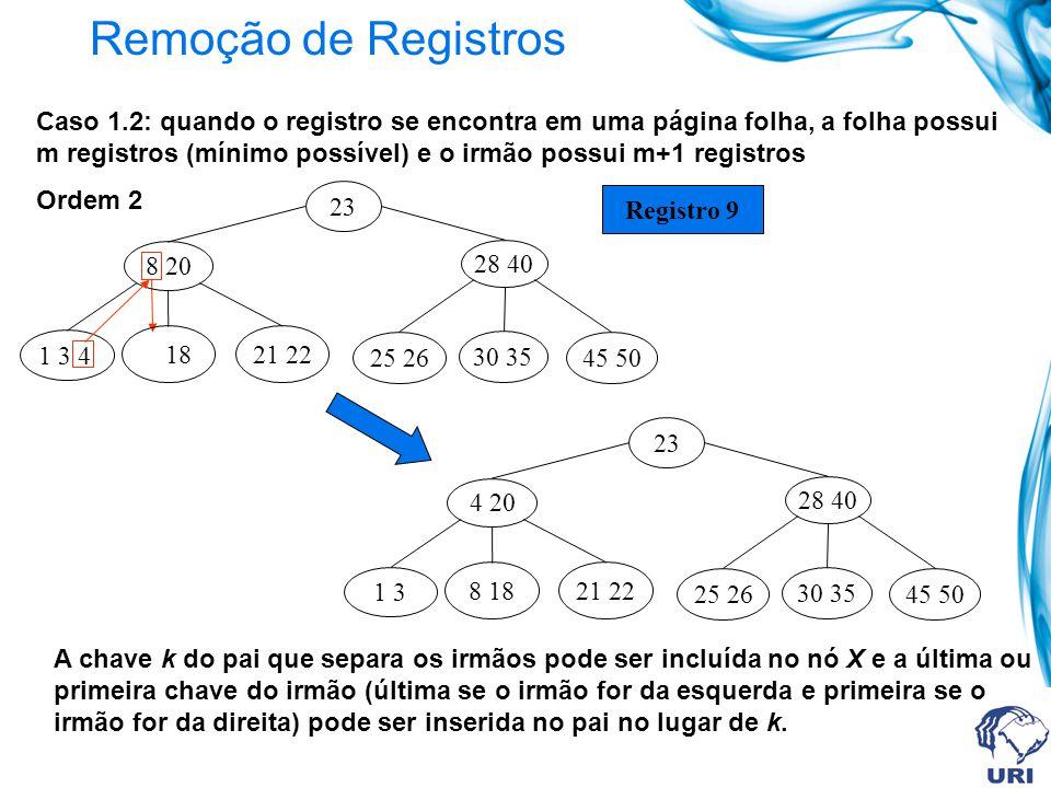 Remoção de Registros