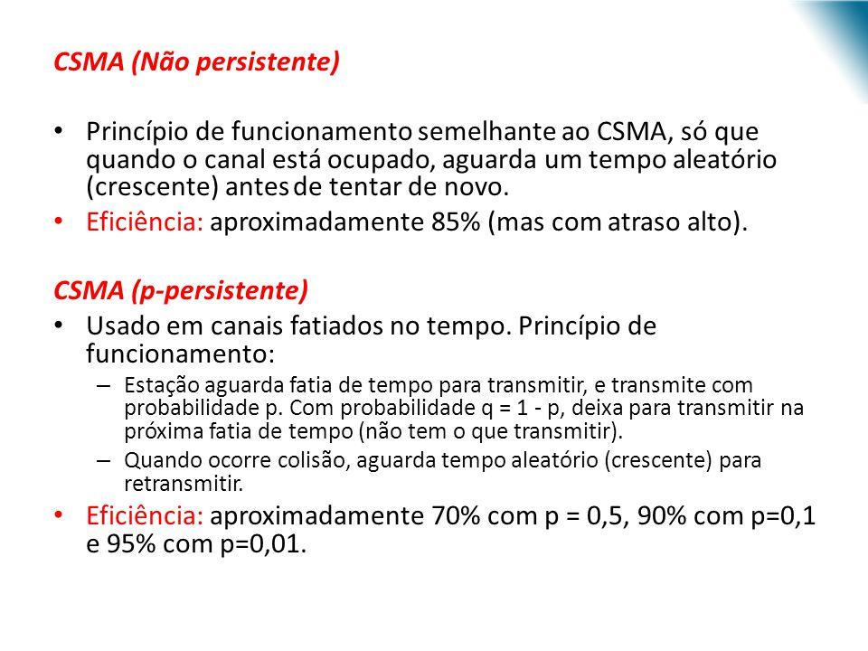 CSMA (Não persistente)