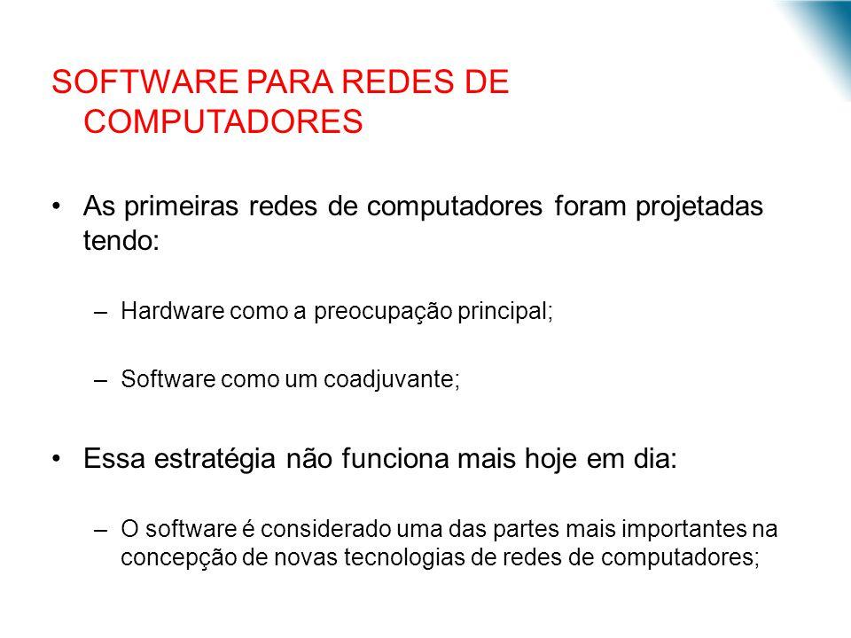 SOFTWARE PARA REDES DE COMPUTADORES