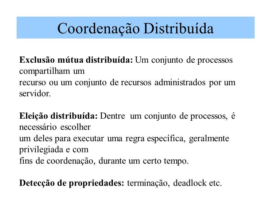 Coordenação Distribuída