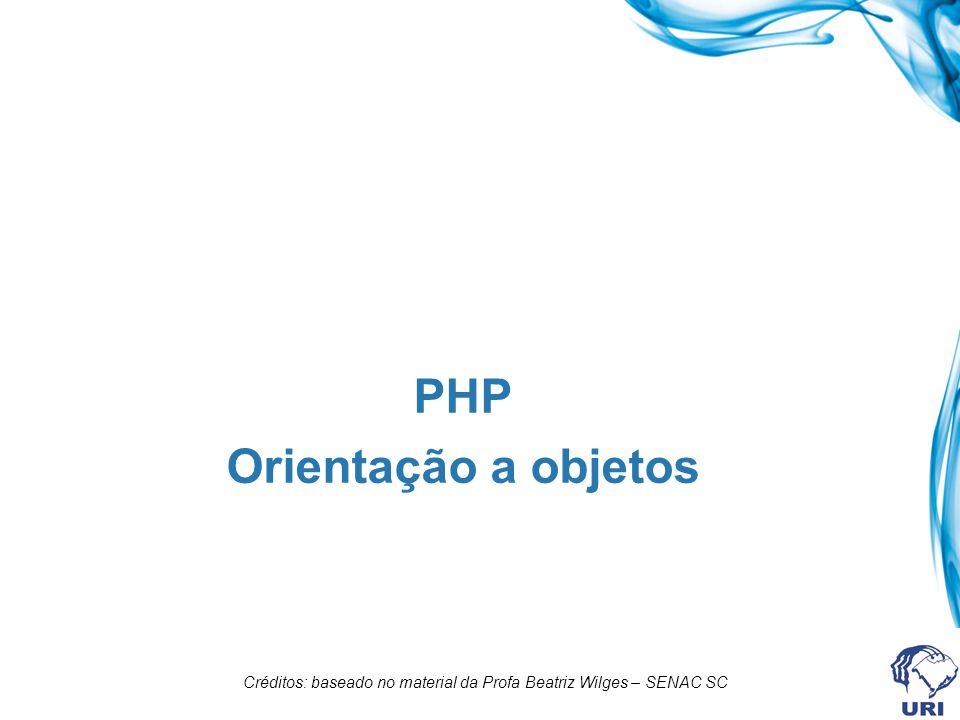 PHP Orientação a objetos
