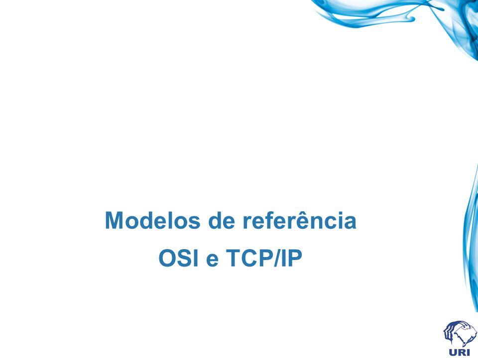 Modelos de referência OSI e TCP/IP