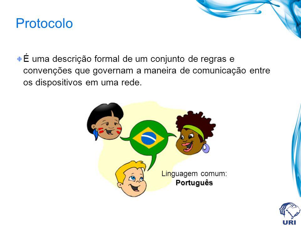 Linguagem comum: Português
