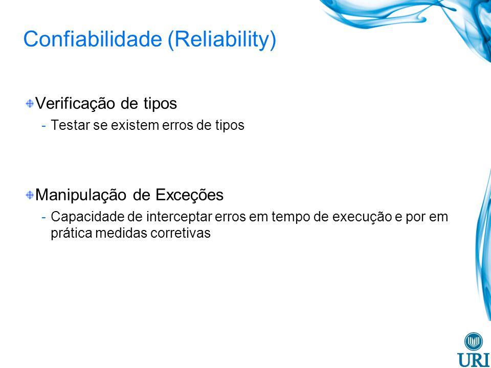 Confiabilidade (Reliability)