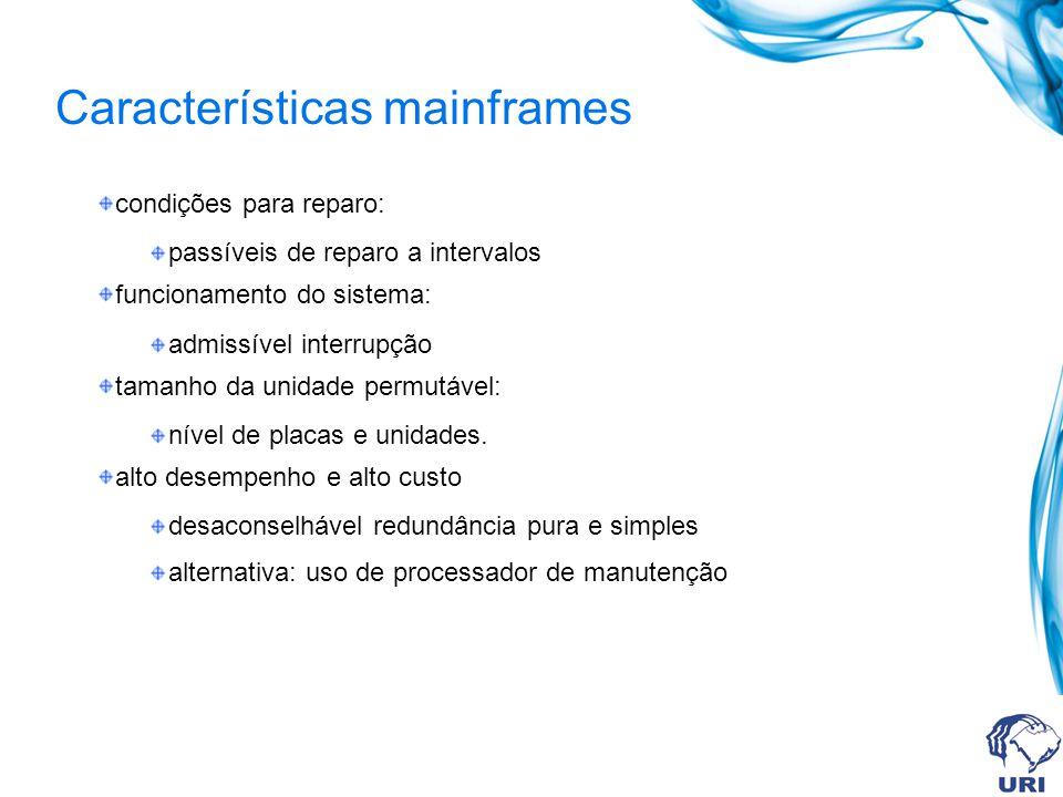 Características mainframes