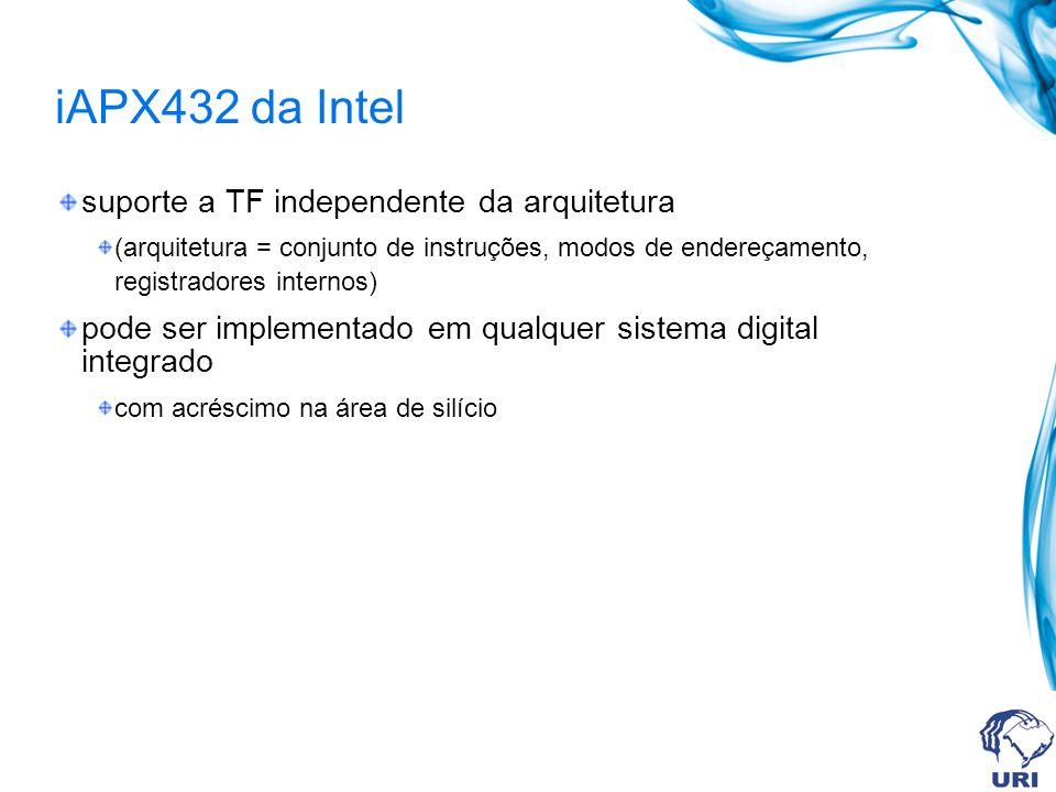 iAPX432 da Intel suporte a TF independente da arquitetura