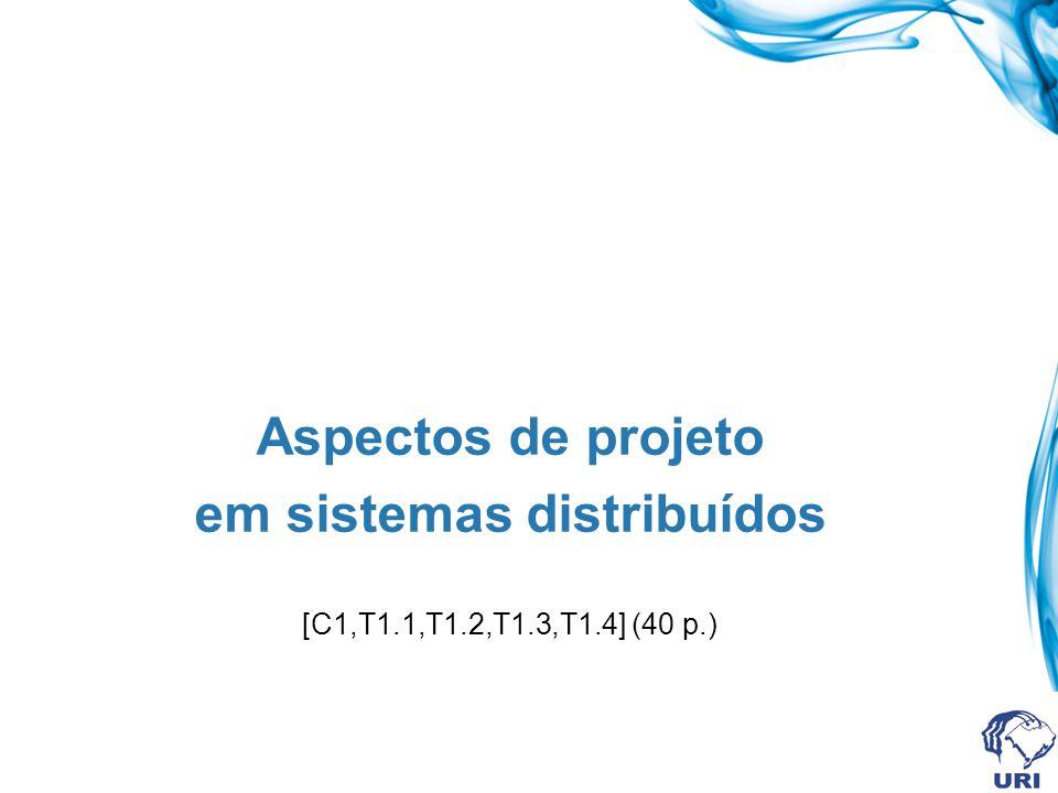em sistemas distribuídos