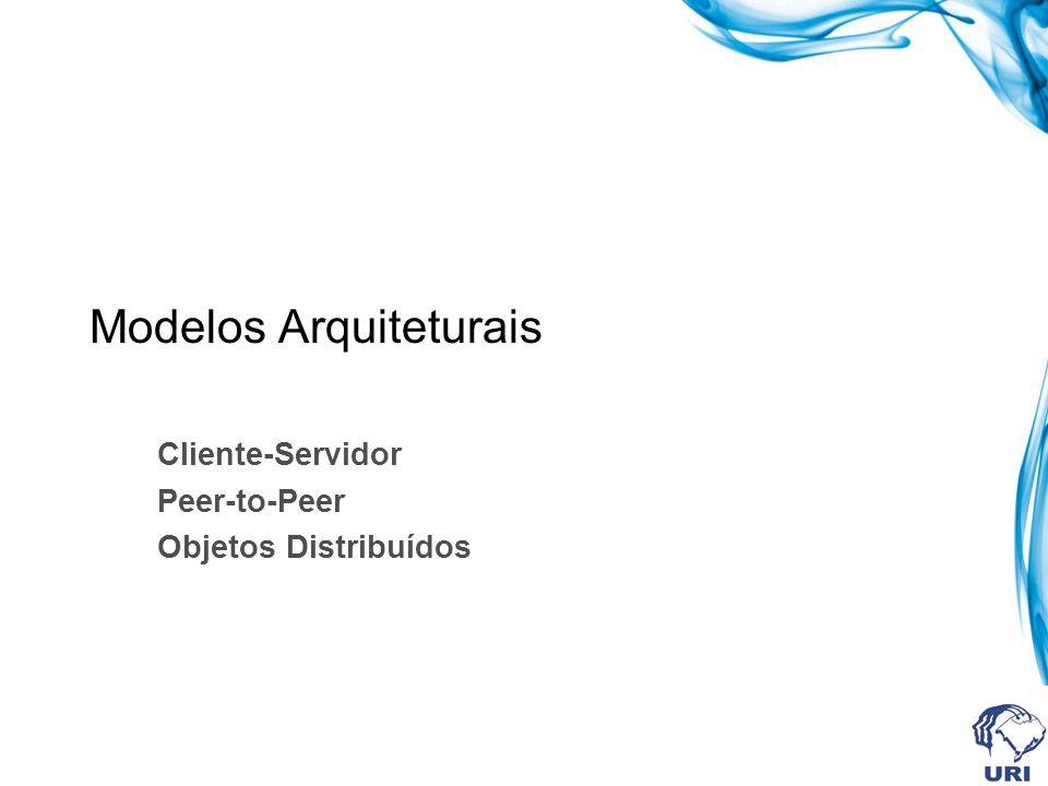 Modelos Arquiteturais