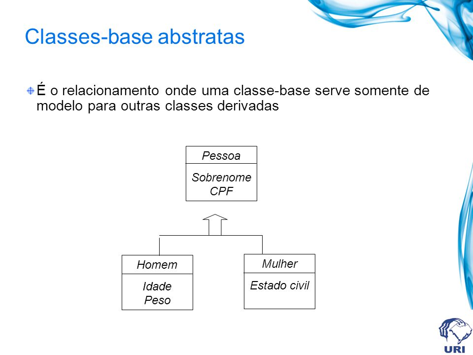 Classes-base abstratas