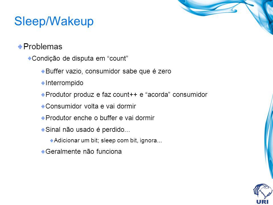 Sleep/Wakeup Problemas Condição de disputa em count