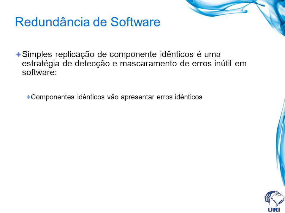 Redundância de Software