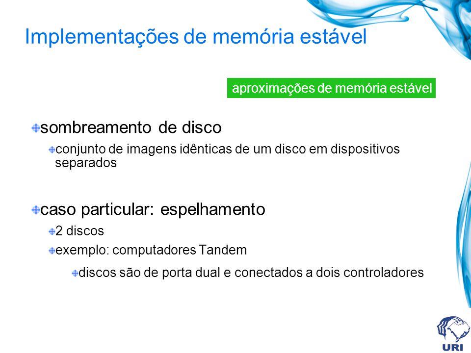 Implementações de memória estável