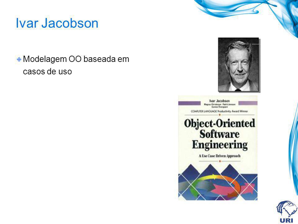 Ivar Jacobson Modelagem OO baseada em casos de uso