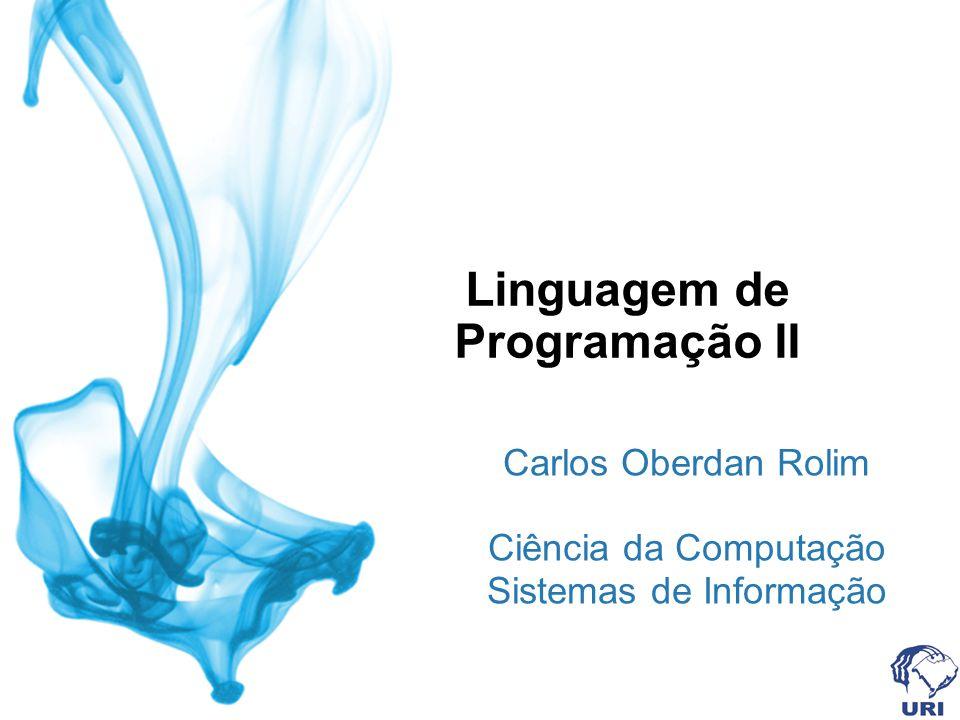 Linguagem de Programação II