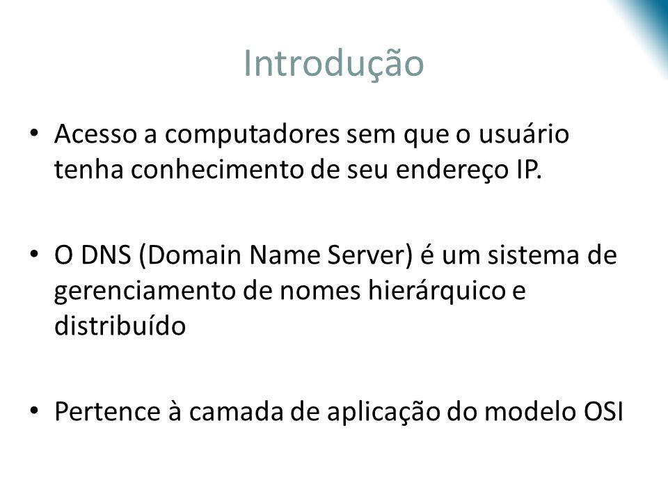 Introdução Acesso a computadores sem que o usuário tenha conhecimento de seu endereço IP.