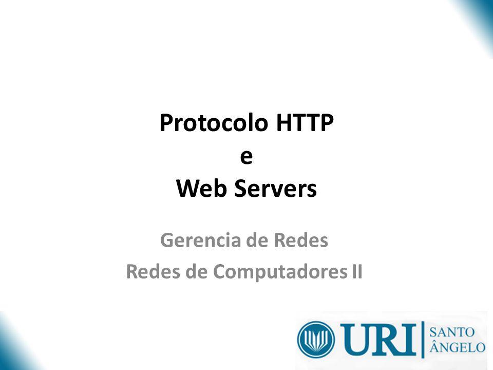 Protocolo HTTP e Web Servers