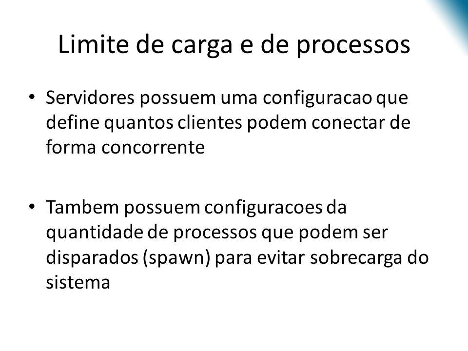 Limite de carga e de processos