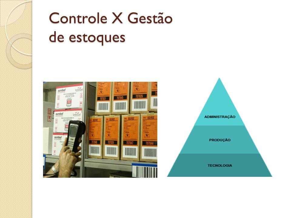 Controle X Gestão de estoques