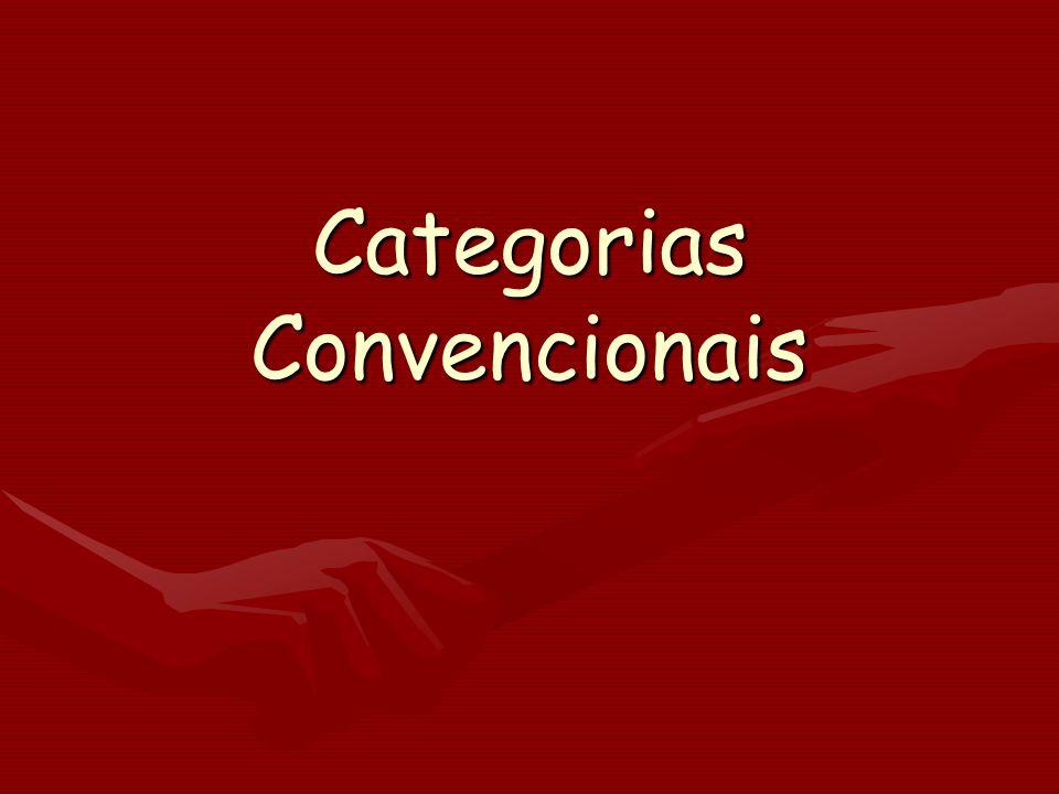 Categorias Convencionais