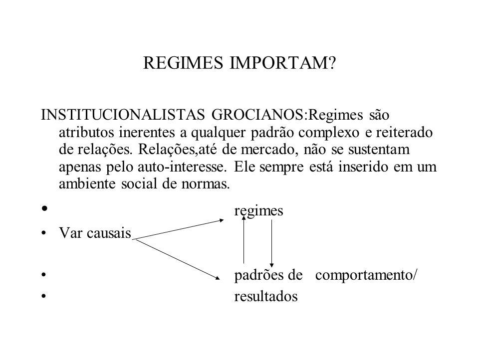 regimes REGIMES IMPORTAM