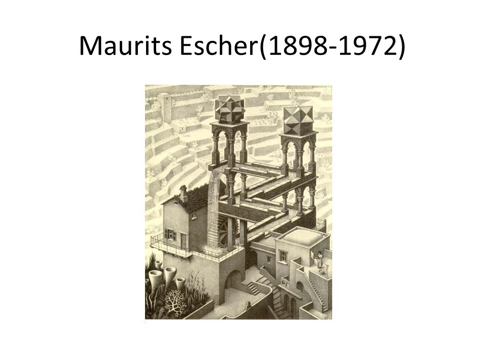 Maurits Escher(1898-1972)