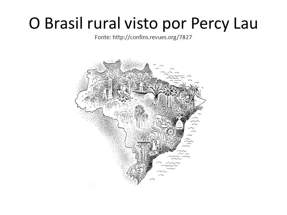 O Brasil rural visto por Percy Lau Fonte: http://confins. revues