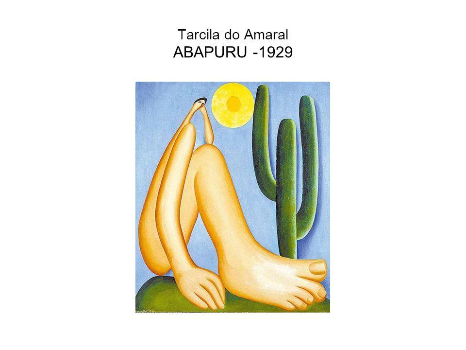 Tarcila do Amaral ABAPURU -1929