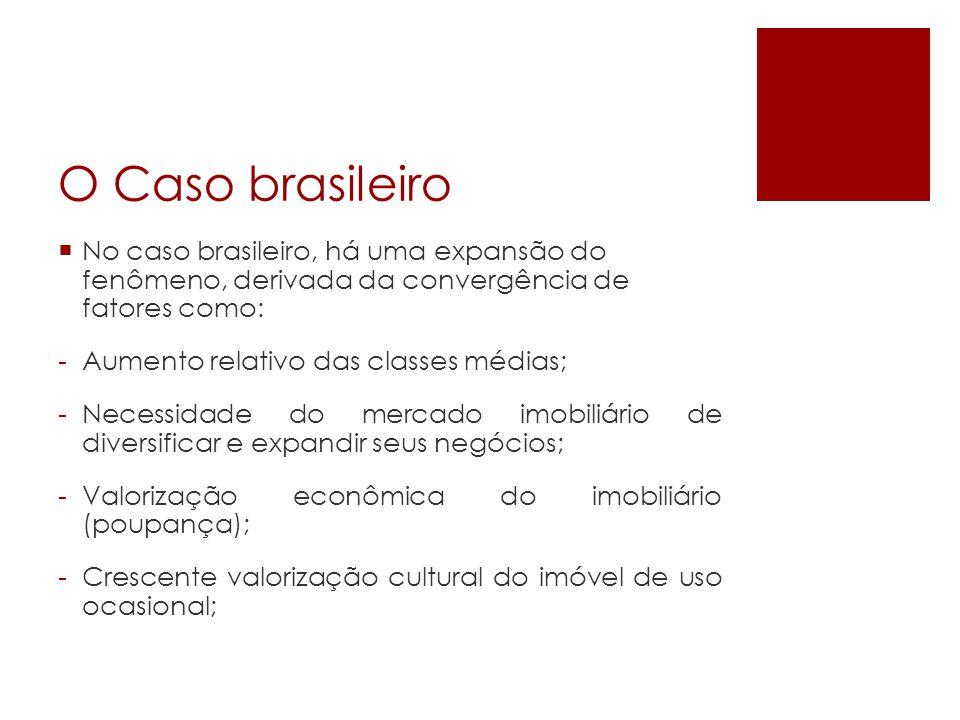 O Caso brasileiro No caso brasileiro, há uma expansão do fenômeno, derivada da convergência de fatores como: