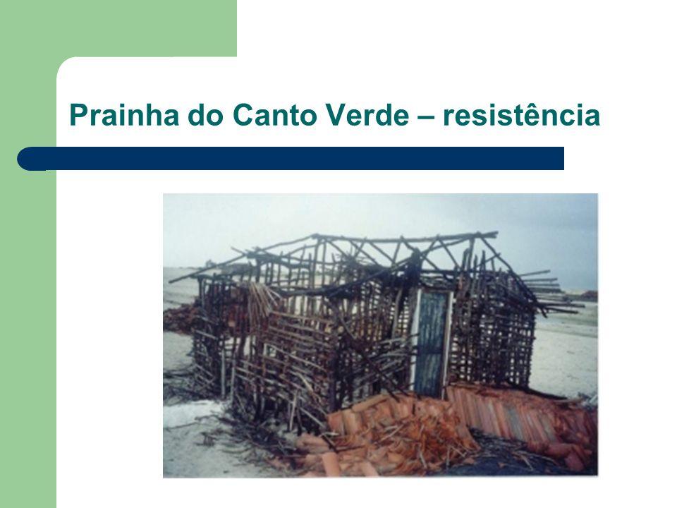 Prainha do Canto Verde – resistência