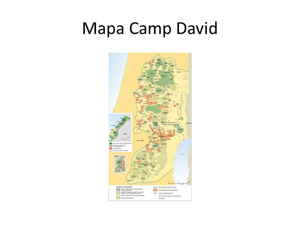 Mapa Camp David