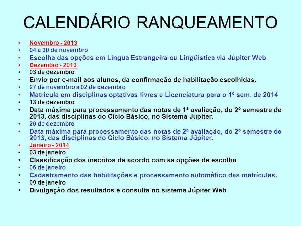 CALENDÁRIO RANQUEAMENTO
