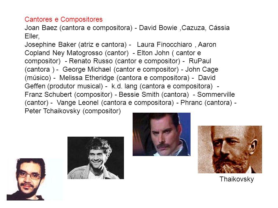 Cantores e Compositores
