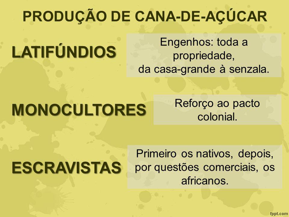 PRODUÇÃO DE CANA-DE-AÇÚCAR