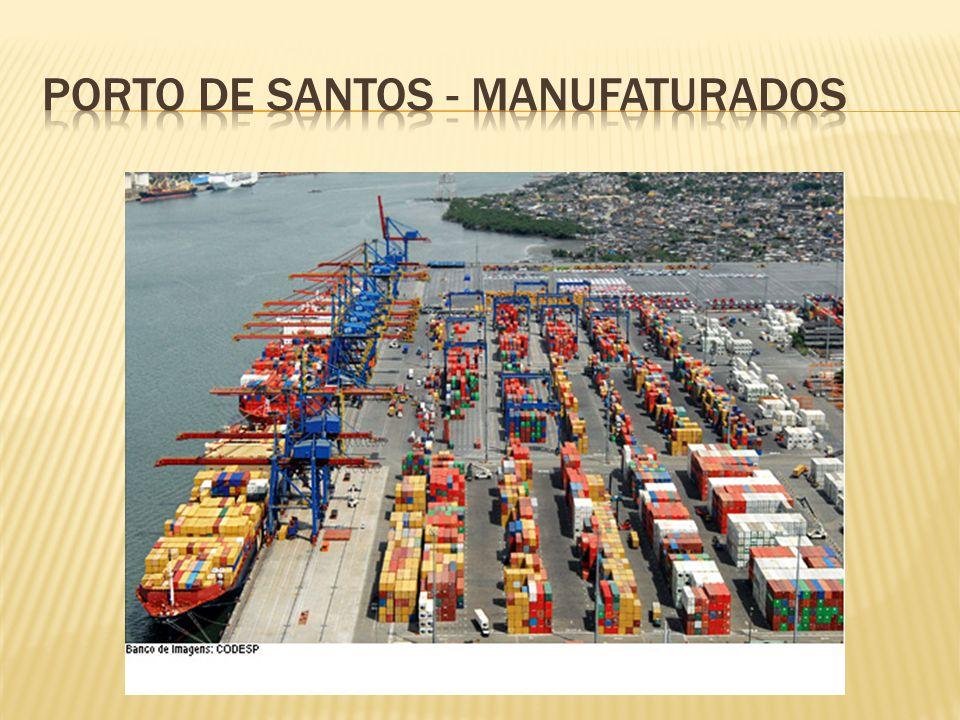 Porto de santos - manufaturados