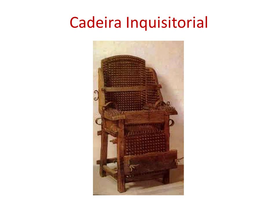 Cadeira Inquisitorial