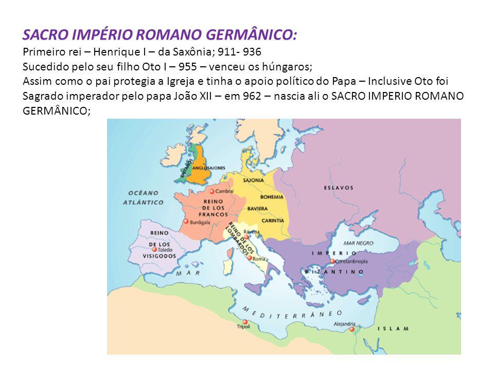SACRO IMPÉRIO ROMANO GERMÂNICO: