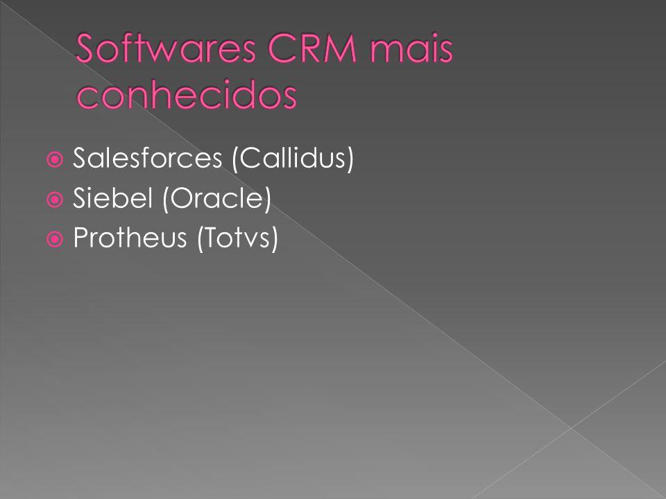 Softwares CRM mais conhecidos