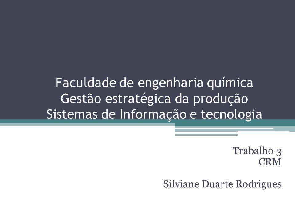 Trabalho 3 CRM Silviane Duarte Rodrigues
