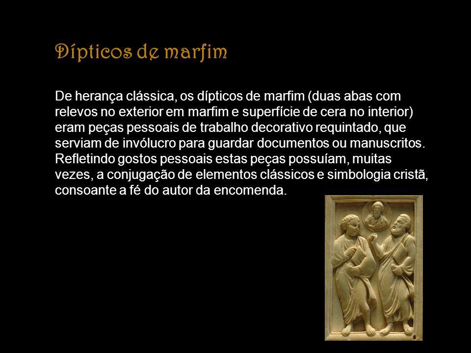 Dípticos de marfim